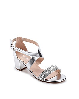 Paradox London Hasina Wide E Fit Sandals