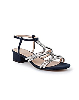 Paradox London Izzy Wide E Fit Sandals