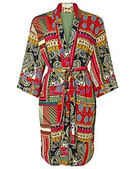 Monsoon Zeeba Scarf Print Kimono