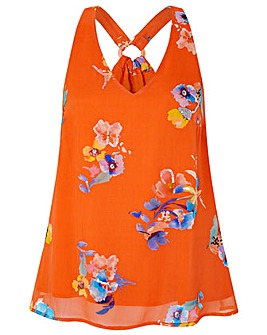 Monsoon Wendy Print Sleeveless Top