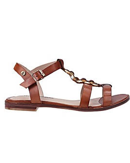 Hush Puppies Lucia T-Bar Buckle Sandal
