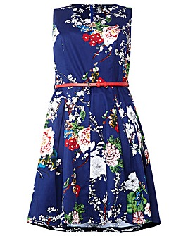 d6ffbd837a5 Izabel London Curve Blossom Print Dress