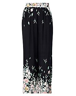 Izabel London Curve Floral Trousers