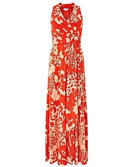 Monsoon Phoebe Jersey Print Maxi Dress