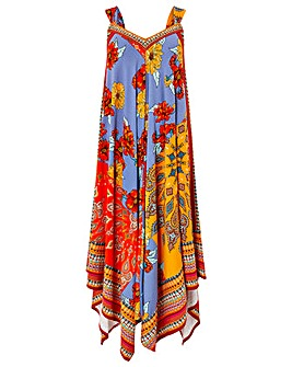 Monsoon Jolene Jersey Scarf Maxi Dress