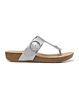 Hotter Resort Wide Fit Mule Sandal
