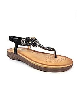 Lunar Edwina Gemstone Sandal