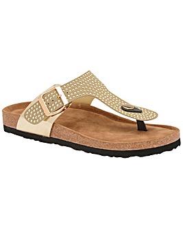 Dunlop Carmen standard fit sandals