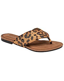 Dunlop Clarice standard fit sandals