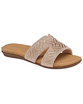 Dunlop Sinead standard fit mule sandals