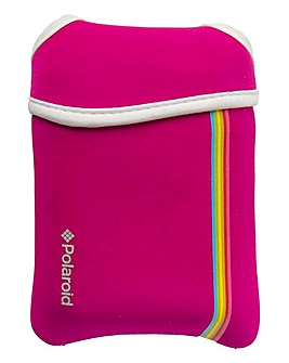 Polaroid Snap Neoprene Pouch Pink