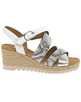 Gabor Talbot Wider Fit Espadrille Wedges