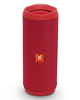 JBL Flip 4 Bluetooth Speaker Red
