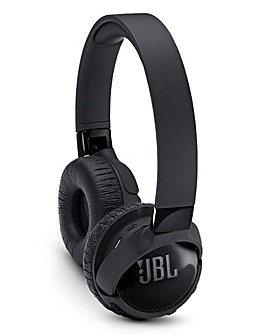 JBL Active Noise Cancelling Bluetooth Headphones Black