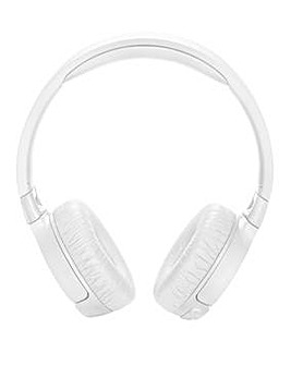 JBL ANC Bluetooth Headphones White