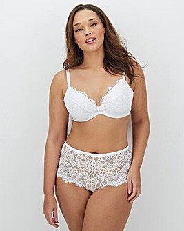 Jade Lace Plunge Wired Bra