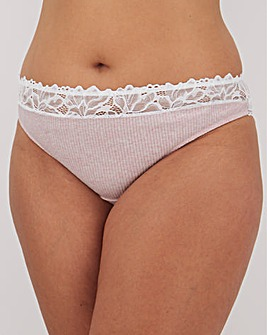 Simply Be Alice Cotton Pale Pink Short