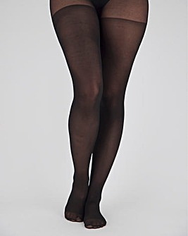 Pretty Secrets 2 Pack Black 40 Denier Opaque Tights