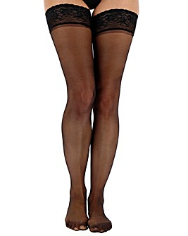 Pretty Secrets 2 Pack 10 Denier Hold Ups