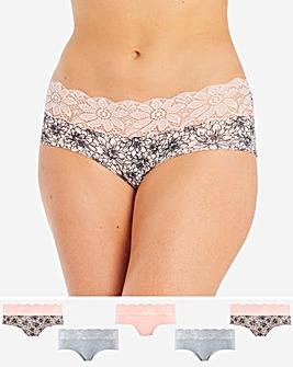 5Pack Lace Top Shorts