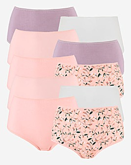 Pretty Secrets 10 Pack Full Briefs