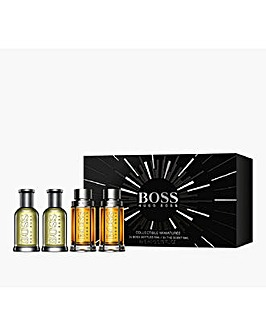 Hugo Boss 4 Piece Mens Miniature Set