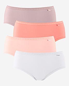 4 Pack Slimma Shorts
