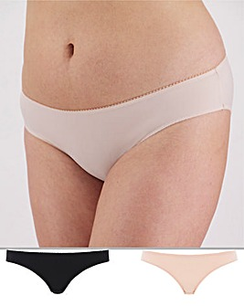 2Pack Feather Touch Brief