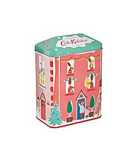 Cath Kidston Christmas Bathing House Tin