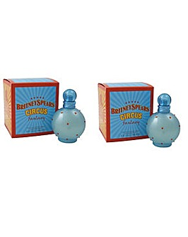 Britney Circus Fantasy 100ml EDP Spray BOGOF