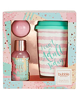 Bubble Boutique Travel Mug Set