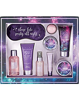 Glitz & Glam Galaxy Sleep Late Gift Set