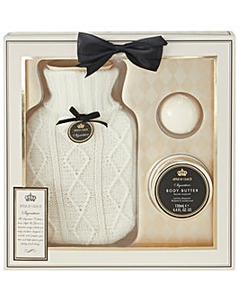 Signature Hot Water Bottle Set
