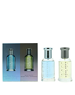 Hugo Boss - Boss Bottled Eau De Toilette  Boss Bottled Tonic EDT Set For Him