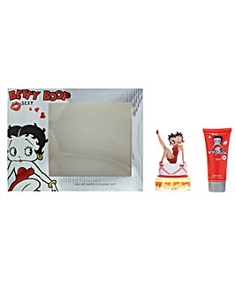 Betty Boop Sexy Eau De Parfum  Bubble Bath Gift Set For Her