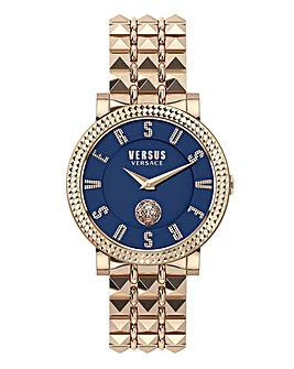 Versus Versace Gold Studded Watch