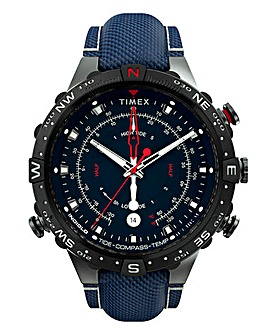 Timex Allied Gunmetal Fabirc Strap Watch