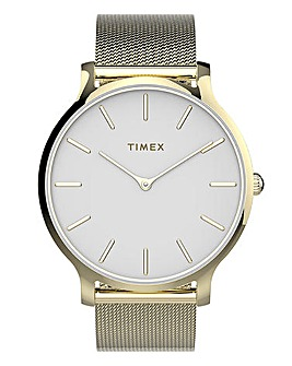 Timex Transcend Gold Watch