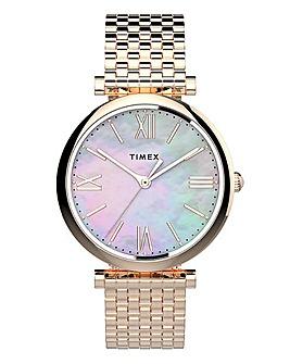 Timex Rose Gold Dress Watch