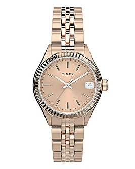 Timex WaterBury Rose Gold Bracelet Watch