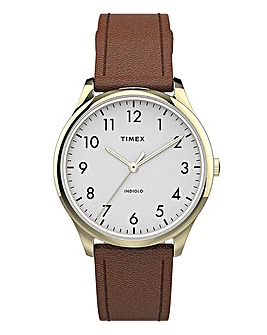 Timex Classic Brown Leather Watch