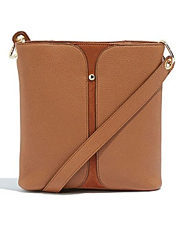 Oasis Tan Crossbody Bag