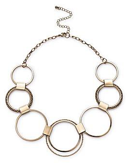 Gold Circle Collar