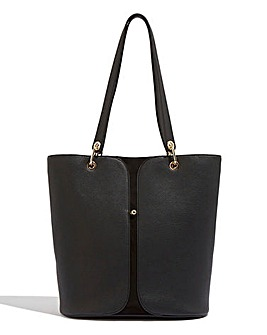 Oasis Leo Gold Stud Tote Bag