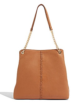 Oasis Frances Whipstitch Shoulder Bag