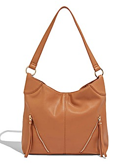 Oasis Cherry Zip Hobo Bag