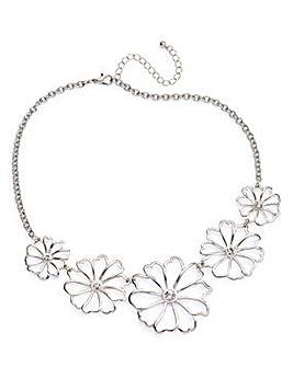 Cut Out Flower Collar