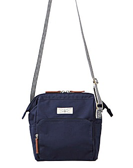 Joules Coast Canvas Cross Body Bag