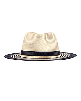 Joules Dora Fedora French Navy Mix