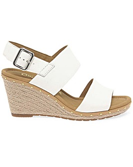 Gabor Anna 2 Womens Wedge Heel Sandals